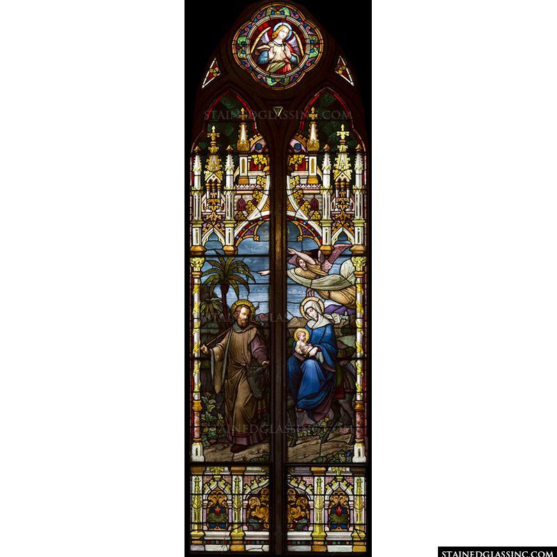 Joseph, Mary, and Baby Jesus