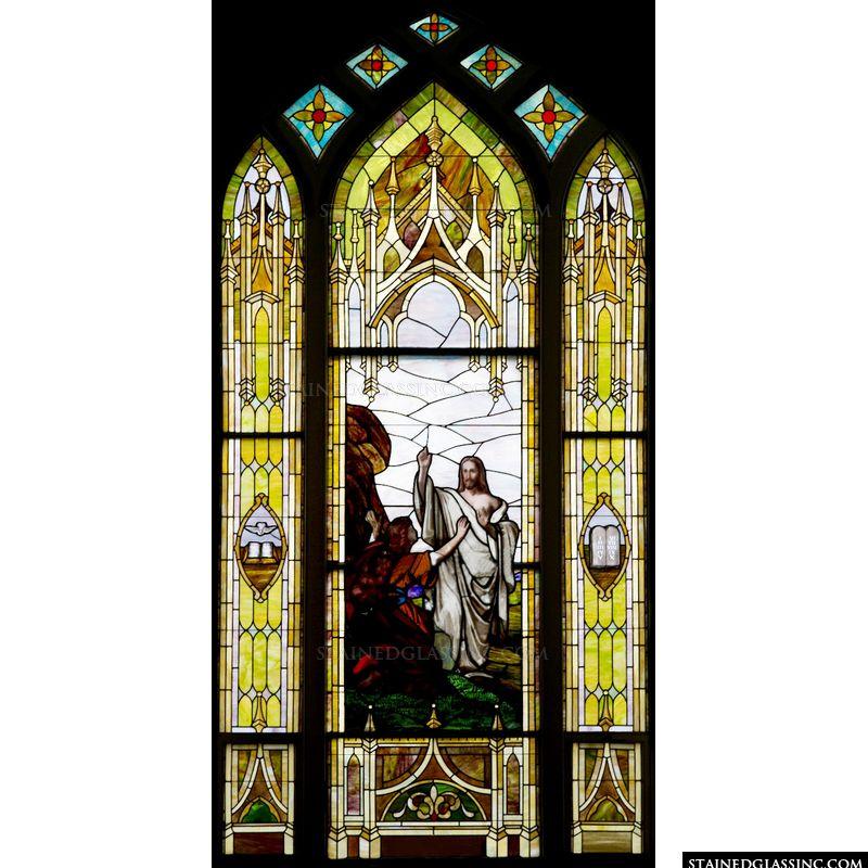 Jesus meets Mary Magdalene
