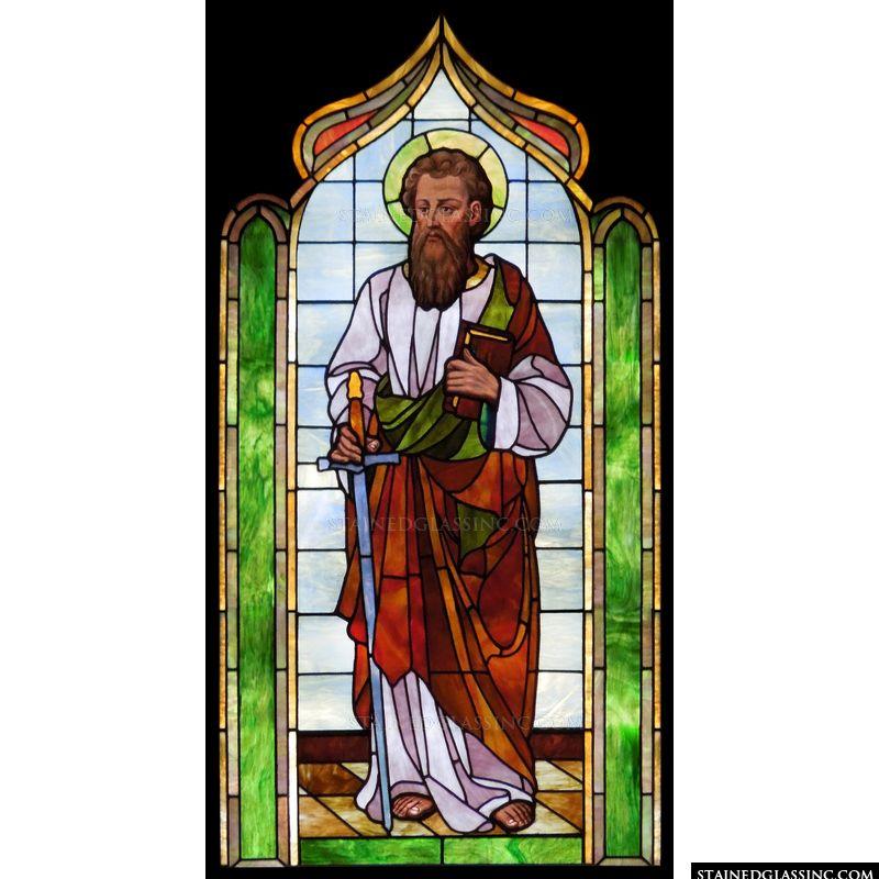 Saint Paul stained glass dans IMMAGINI (DI SAN PAOLO, DEI VIAGGI, ALTRE SUL TEMA) 5396