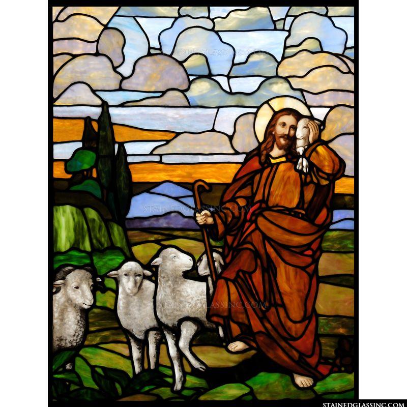 Minding His Sheep