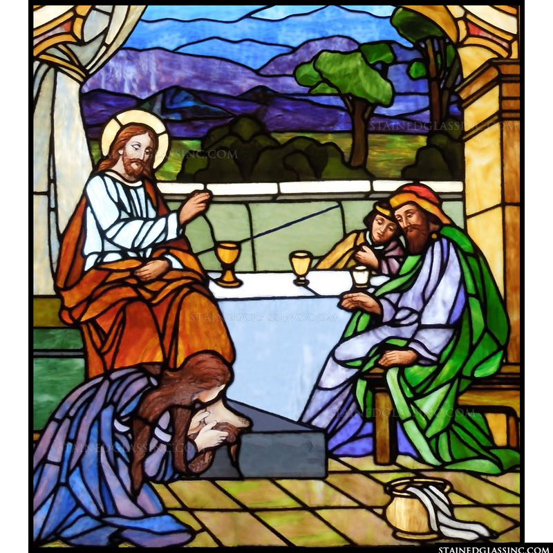 The Washing of Jesus Feet