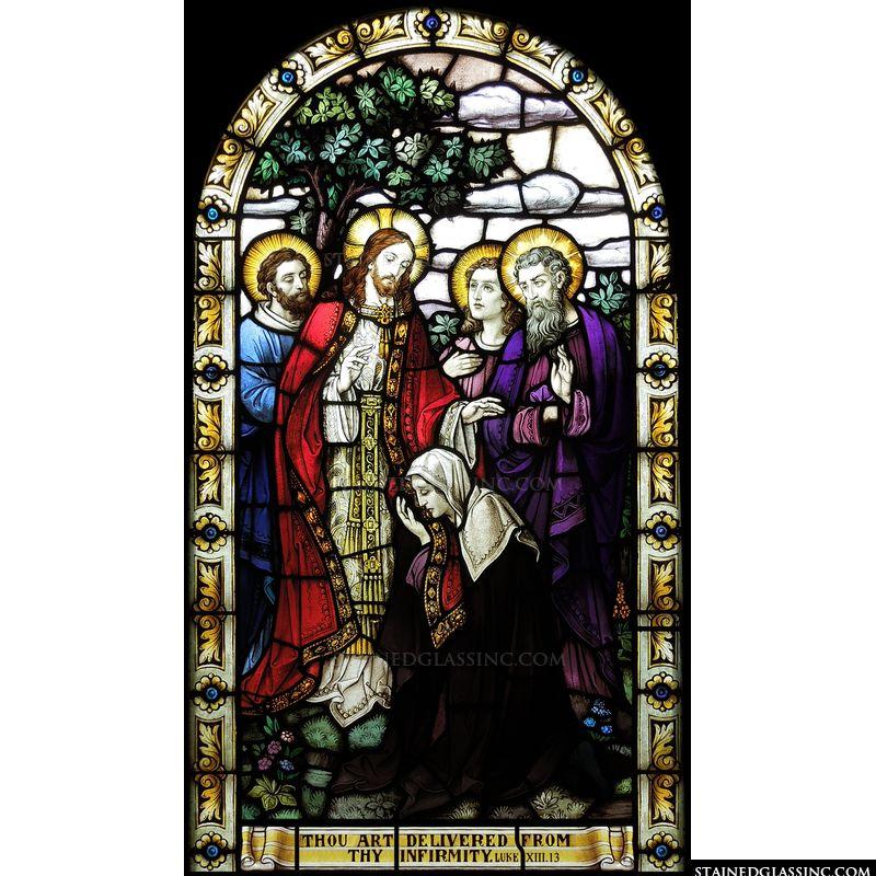 Jesus Heals the Sick and the Deformed
