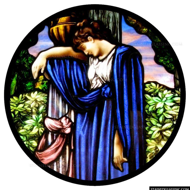 Maiden in Blue