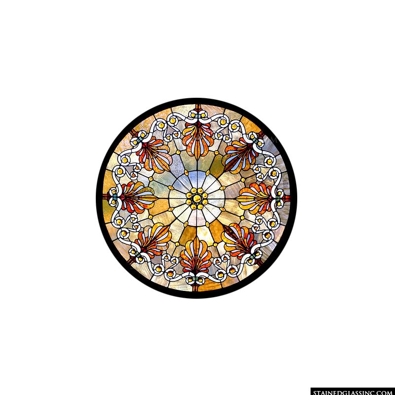 Daphne Rose Window