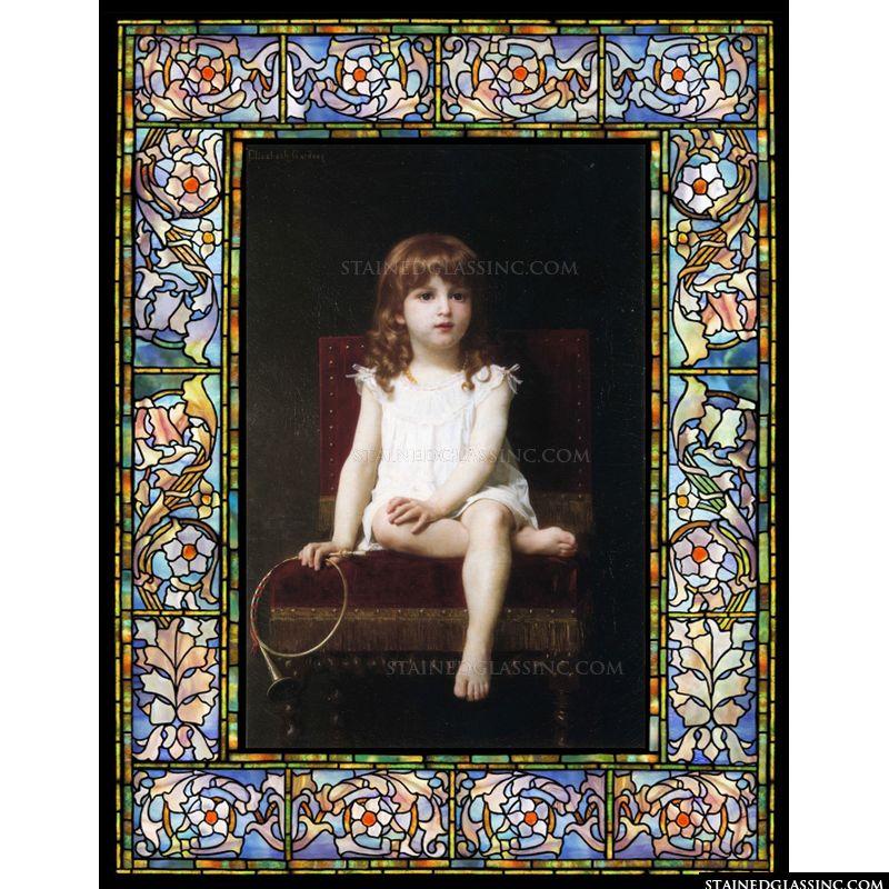 Portrait of Rudyard Kiplings Daughter