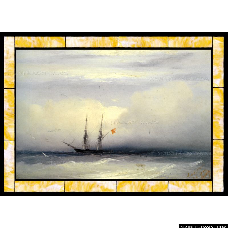 Ship on a Stormy Sea