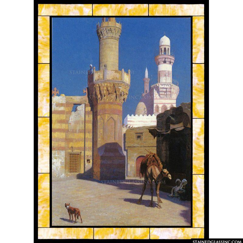 Une Journee Chaud Au Caire (Devant La Mosquee)