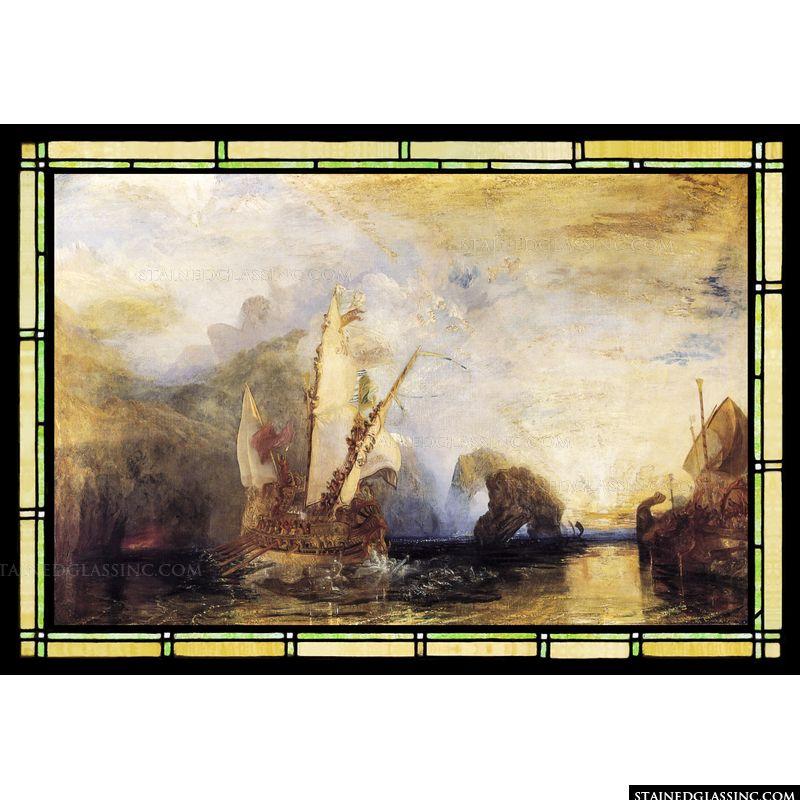 Odysseus Deriding Polyphemus