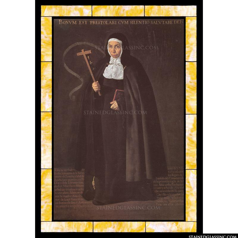 Mother Jeronima de La Fuente