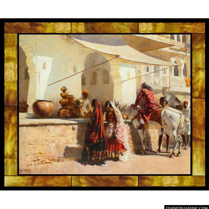 A Street Market Scene India