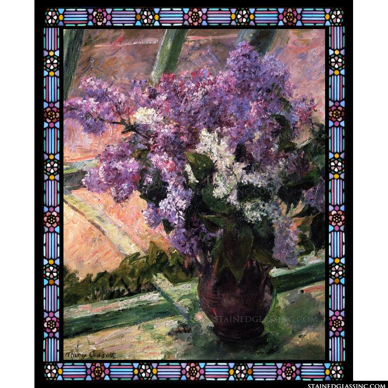 Lilacs in a Window
