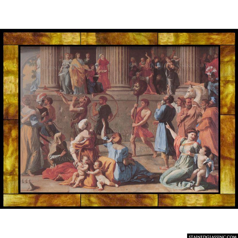 The Triumph of David [Detail]