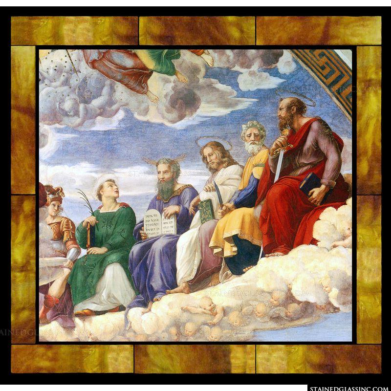 The Stanza Della Segnatura Ceiling [Right Detail]