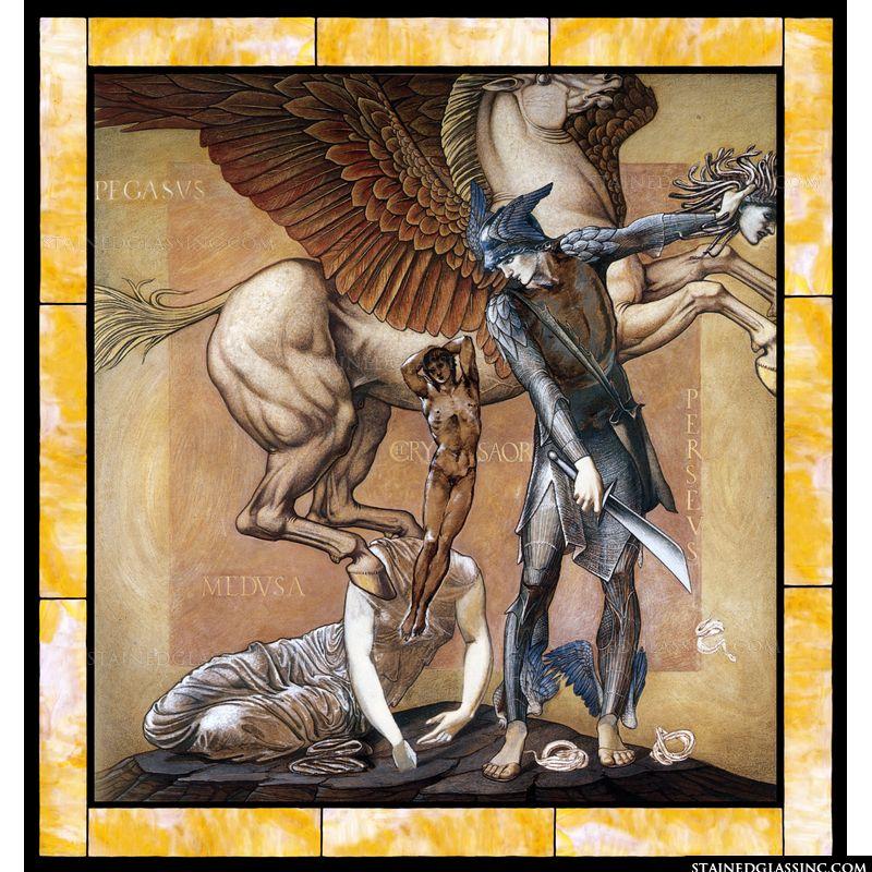 Perseus Death of Medusa I