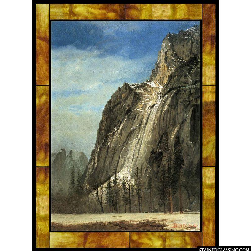 Cathedral Rocks at Yosemite View