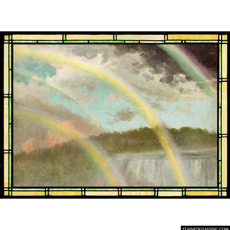Four Rainbows over Niagara Falls