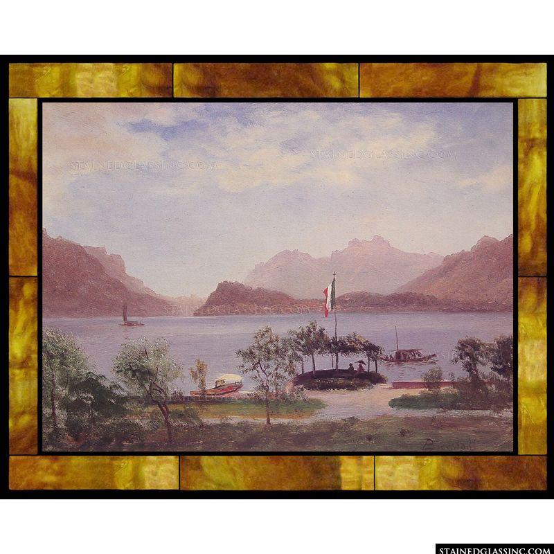 Italian Lake Scene