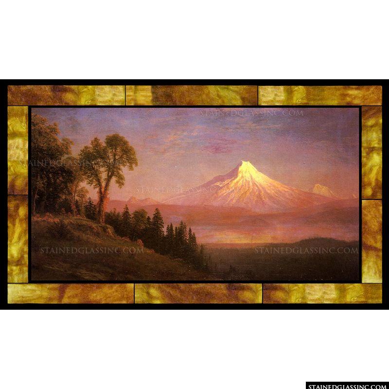 Mount St. Helens Columbia River Oregon