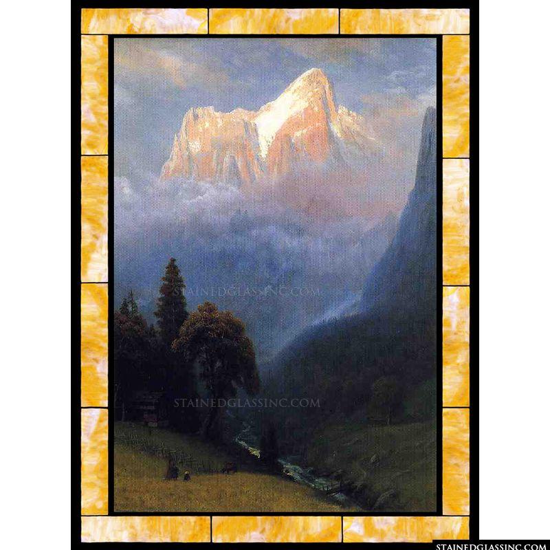 Storm among the Alps