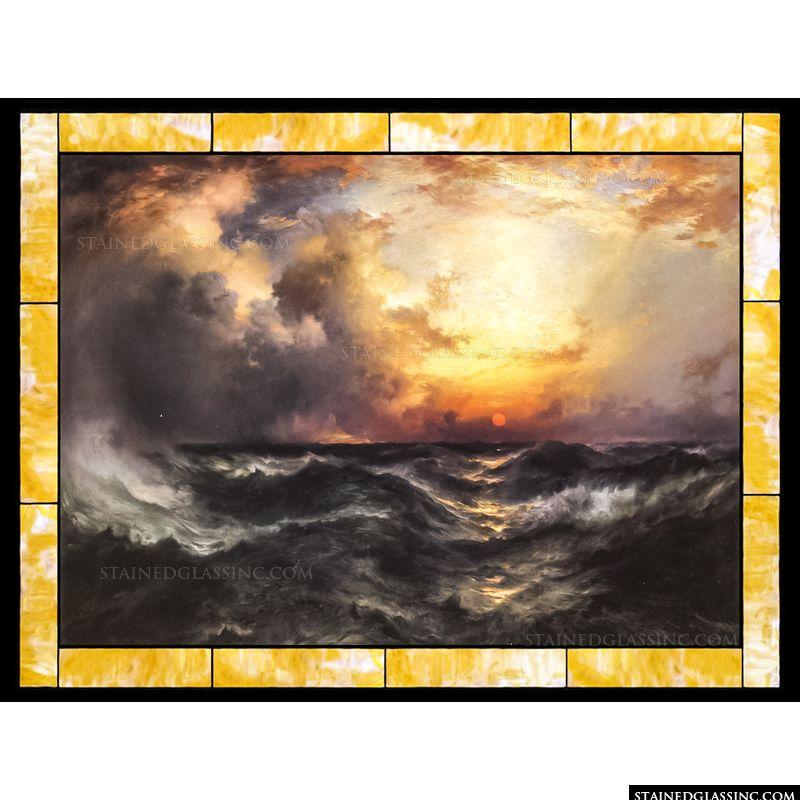 Sunset in Mid-Ocean