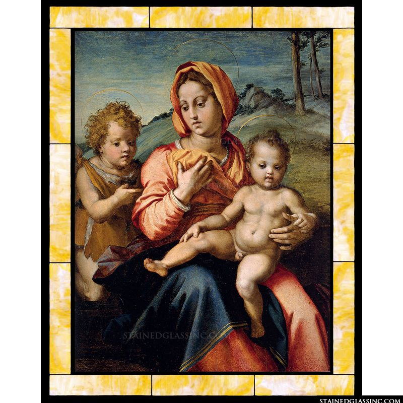 Madonna and Child with the Infant Saint John in a Landscape