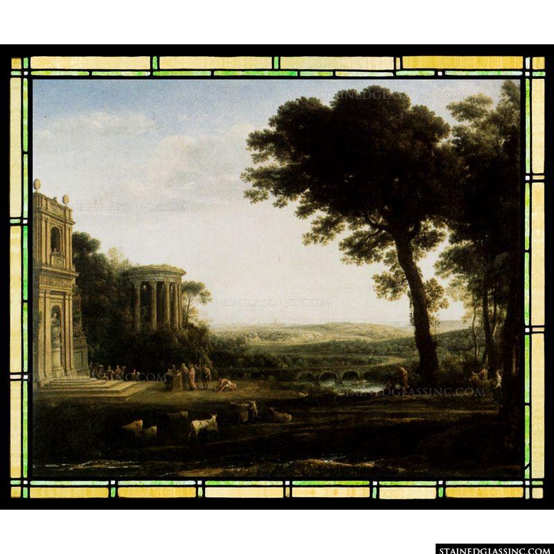 Landscape with a Sacrifice to Apollo