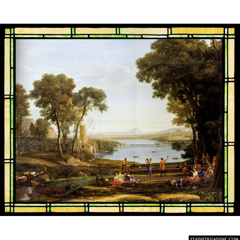 Landscape with the Marriage of Isaac and Rebekah