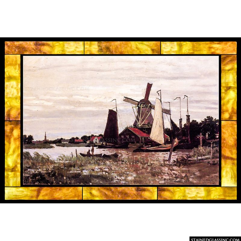 A Windmill at Zaandam Thumbnail