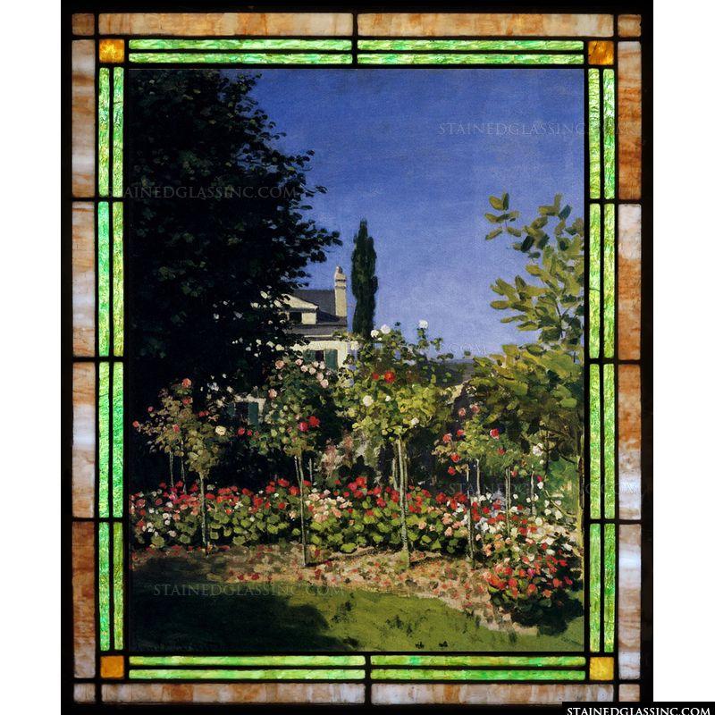 Garden in Flower at Sainte-Adresse
