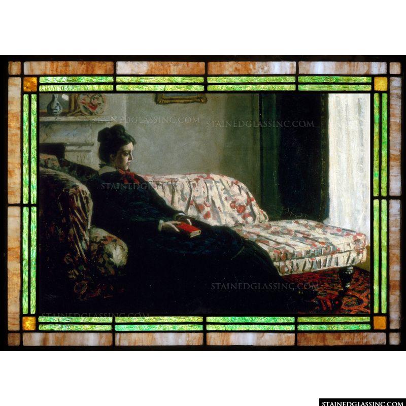 Meditation (Madame on the Sofa)