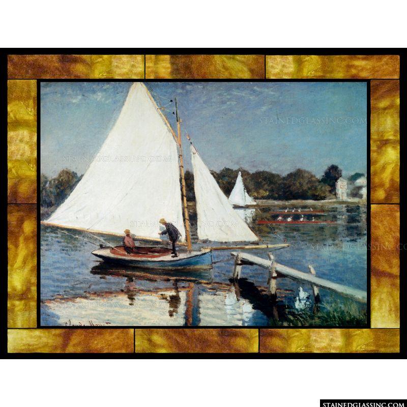 Sailing at Argenteuil