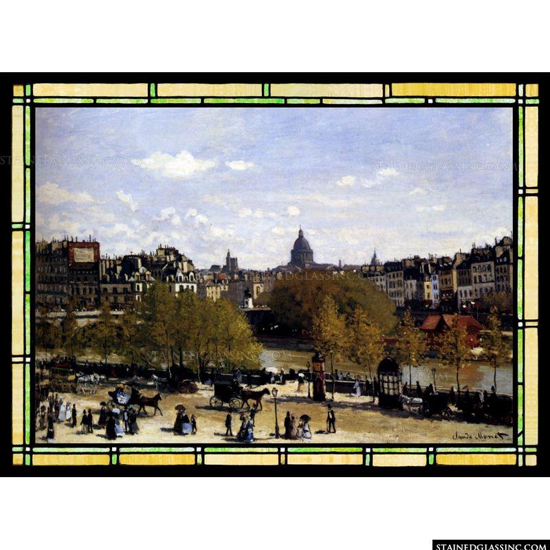 The Quai du Louvre Paris
