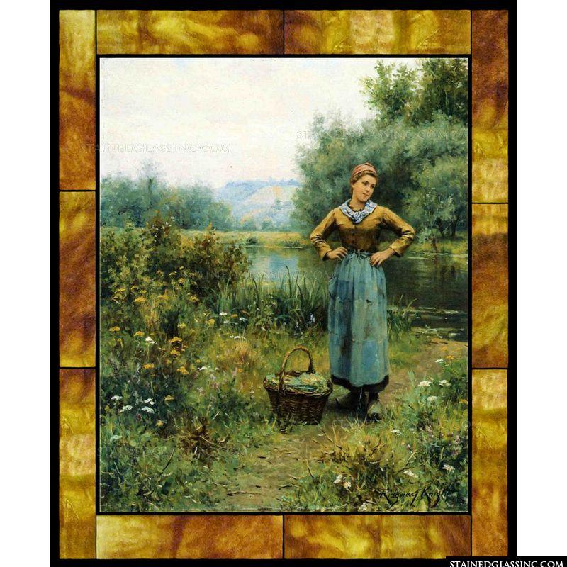 Girl in a Landscape