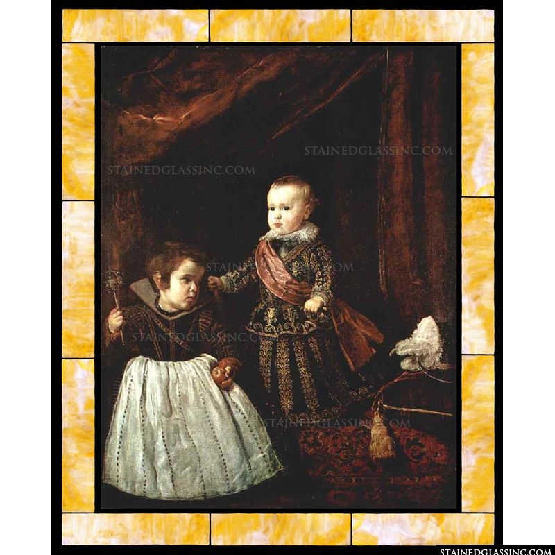 Prince Baltasar Carlos with a Dwarf
