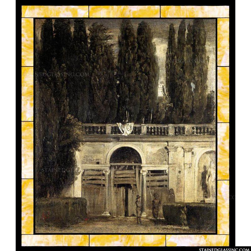Villa Medici Grotto-Loggia Fatade