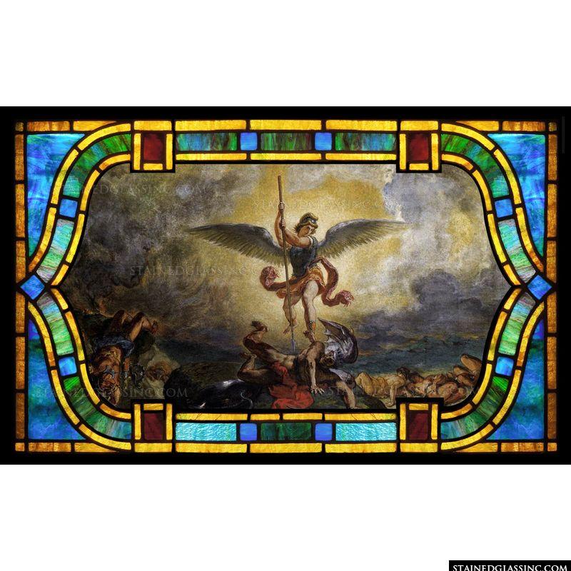 St Michael Defeats the Devil