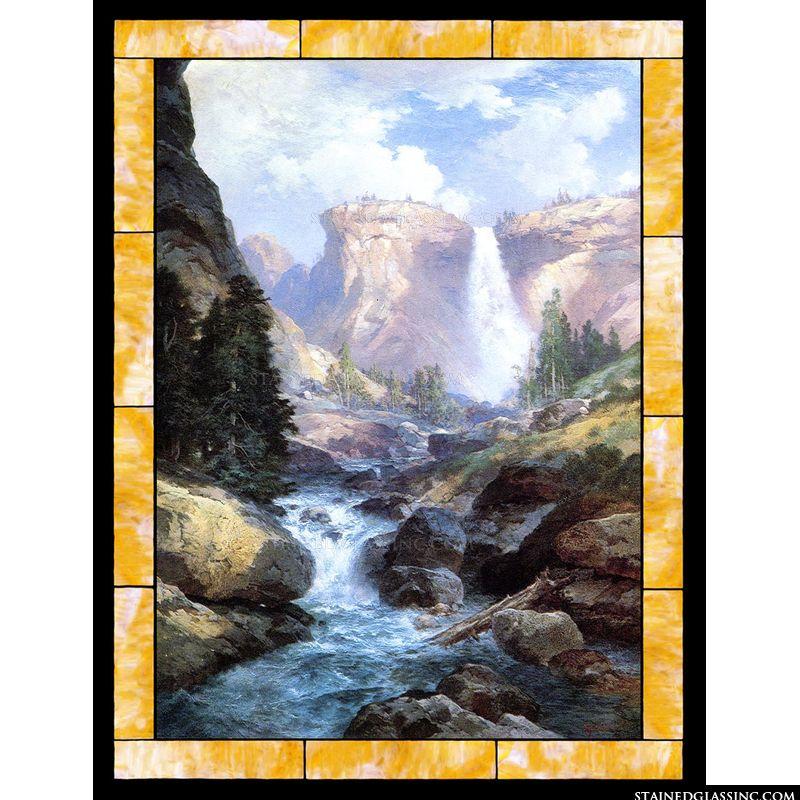 Waterfall in Yosemite