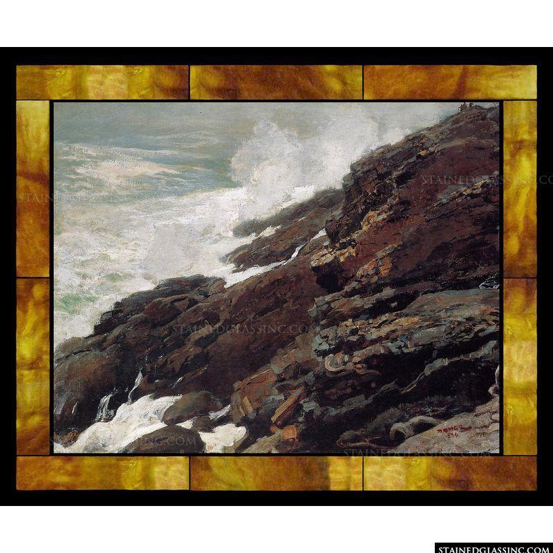 High Cliff Coast of Maine