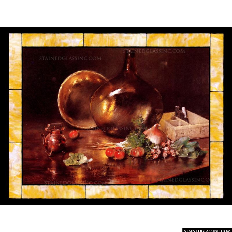 Still Life (Brass and Glass)