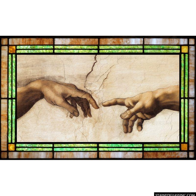 Creation of Adam Hands