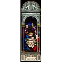 Nativity Stained Glass Window