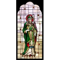 St. Patrick with Shamrocks
