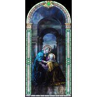 Elizabeth with the Virgin