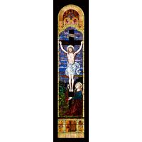 Crucifixion of Jesus Arched Window Surround