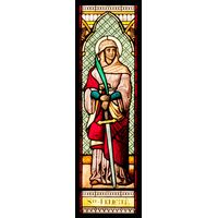 Saint Felicity Stained Glass Window