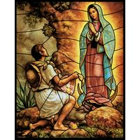 Juan Diego and Our Lady of Guadalupe