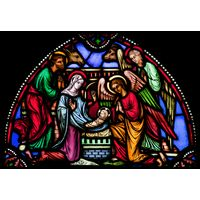 Nativity Transom
