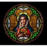 Blessed Mary's Sacred Heart