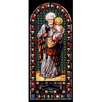 St. Joseph Holding Infant Christ