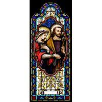 Virgin Mary and St. Joseph